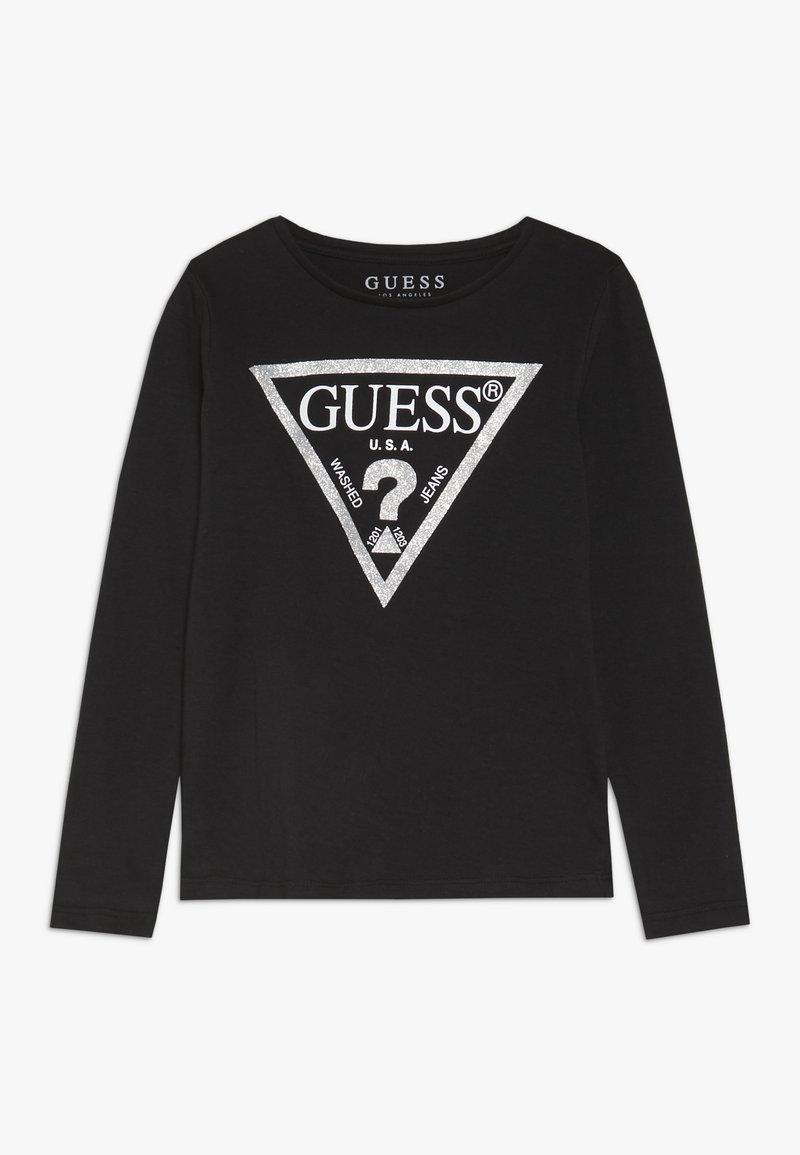 Guess - TODDLER CORE - Bluzka z długim rękawem - jet black/frost