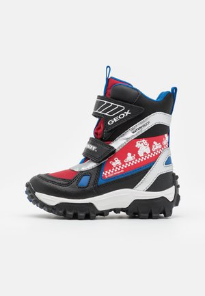 NINTENDO MARIO KART JUNIOR HIMALAYA BOY WPF - Winter boots - black/red