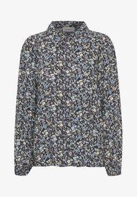 Denim Hunter - Button-down blouse - total eclipse flora print - 4
