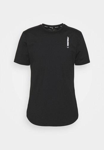 WARRIOR TEE - Print T-shirt - black