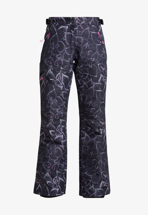 JOSIE - Snow pants - anthrazit/pink