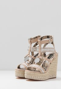 River Island Wide Fit - Sandali con tacco - light pink - 4