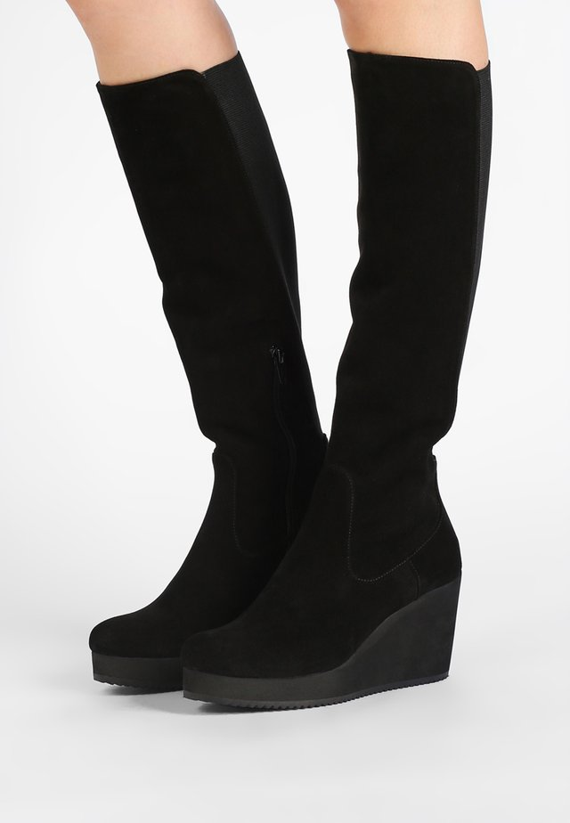 MICRO - High heeled boots - crosta