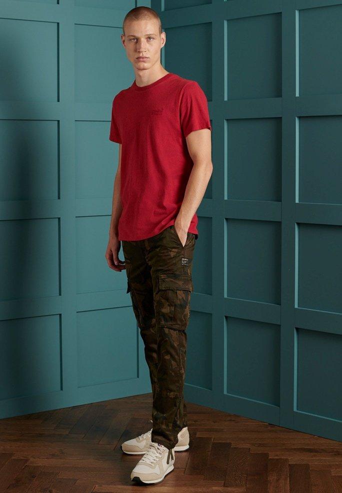 Uomo OL VINTAGE EMB  - T-shirt basic