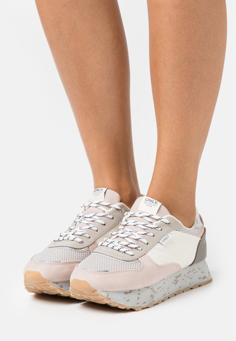 ONLY SHOES - ONLSONIA - Sneakersy niskie - light pink