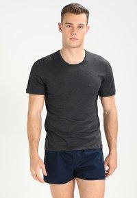 BOSS - 3 PACK - Unterhemd/-shirt - open blue - 1