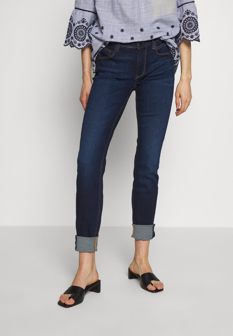 Marc O'Polo DENIM - ALVA - Jeans Skinny Fit - basically blues wash