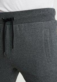 Pier One - Tracksuit bottoms - mottled dark grey - 3
