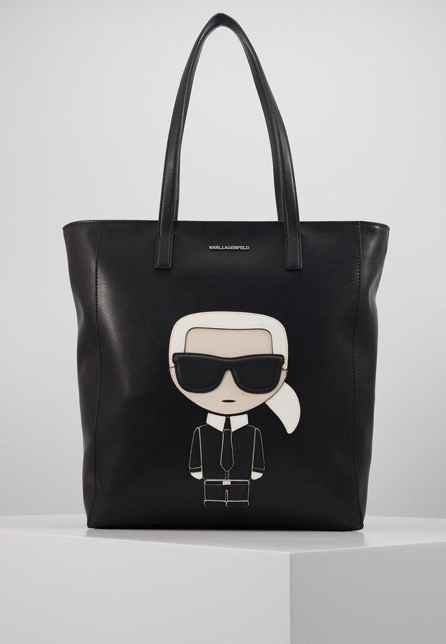 IKONIK SOFT TOTE - Handbag - black