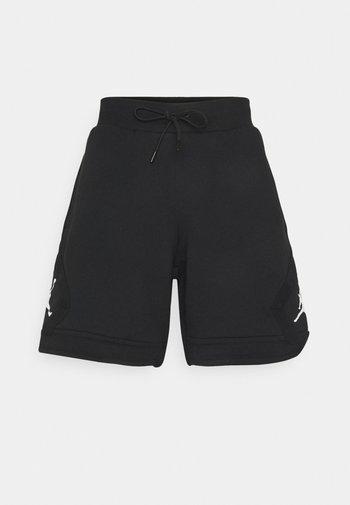 DIAMOND - Shorts - black/white