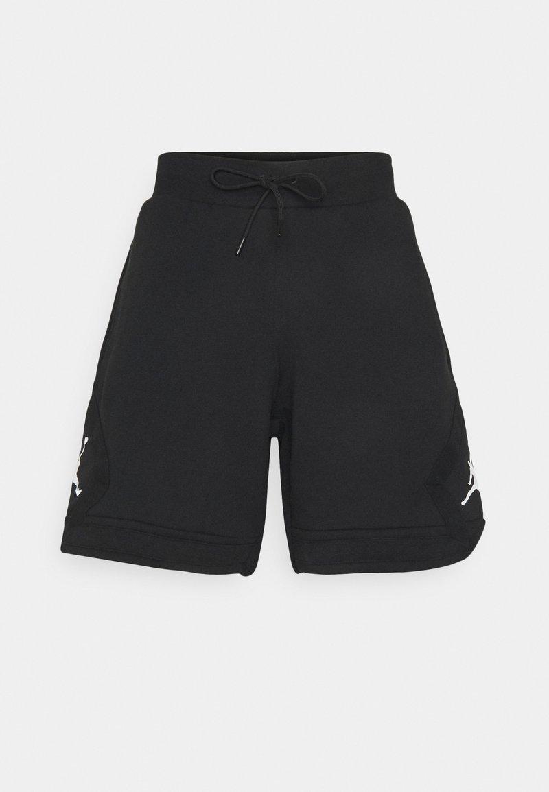 Jordan - DIAMOND - Shorts - black/white