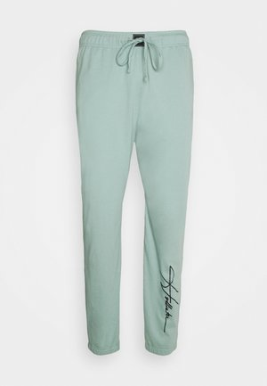 LOUNGE BOTTOM JOGGERS - Pyjama bottoms - blue wash