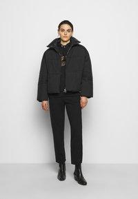 Pinko - FIORE CABAN - Light jacket - black - 1