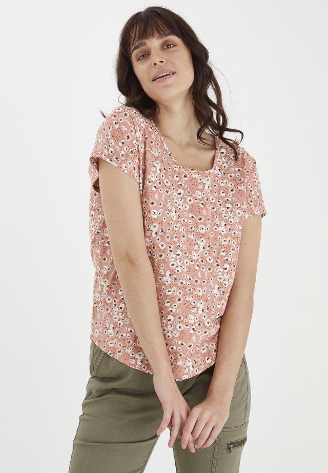 T-shirt imprimé - misty rose mix