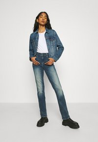 G-Star - NOXER STRAIGHT - Straight leg jeans - antic faded baum blue - 1