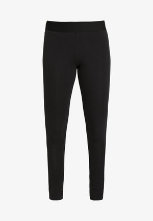 ESSENTIALS SPORT INSPIRED COTTON LEGGINGS - Collants - black/white
