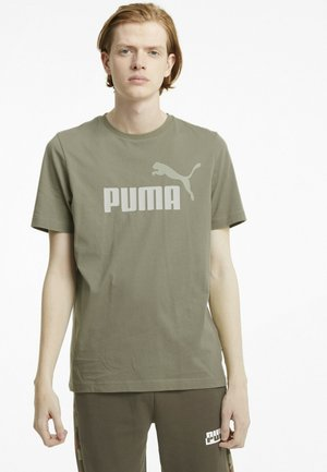 Print T-shirt - vetiver