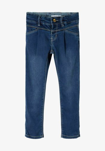Slim fit -farkut - medium blue denim
