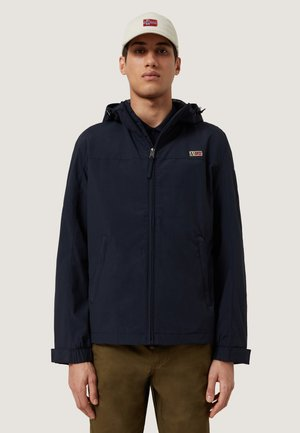 SHELTER H  - Summer jacket - blu marine