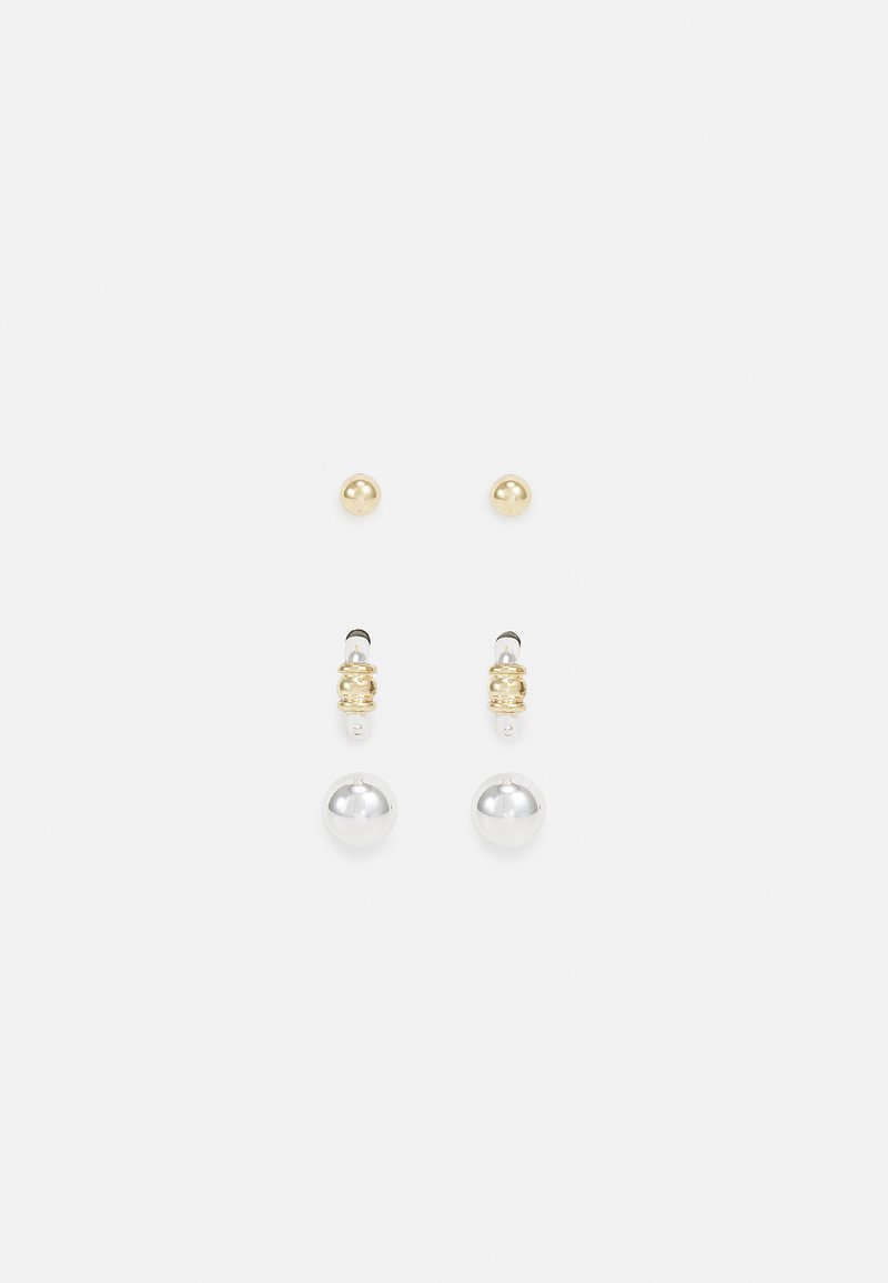 Lauren Ralph Lauren - POST TRIO 3 PACK - Earrings - two tone