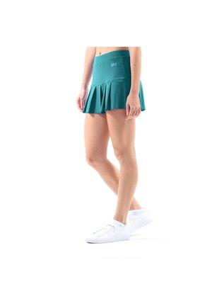 FALTEN - Sports skirt - petrol grün