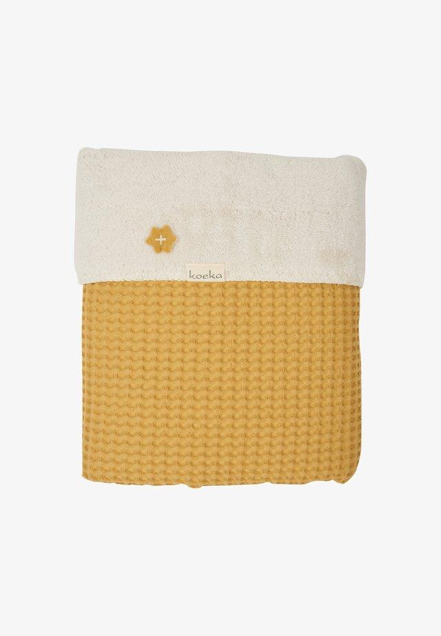 OSLO - Baby blanket - ochre
