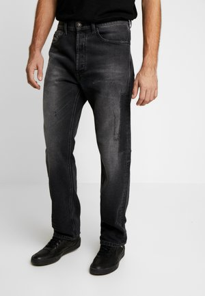D-MACS - Straight leg jeans - black denim