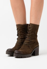 Felmini - COSMO - Platform ankle boots - marvin olive - 0
