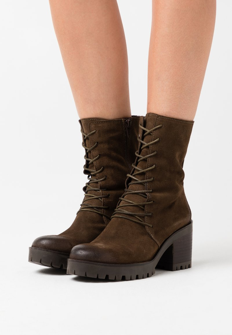 Felmini - COSMO - Platform ankle boots - marvin olive