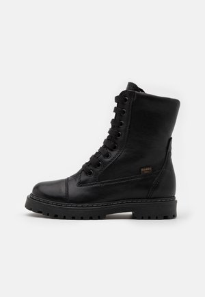 ELI TEX MEDIUM FIT - Lace-up boots - black