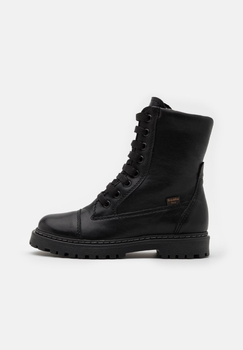 Froddo - ELI TEX MEDIUM FIT - Lace-up boots - black