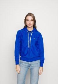 Polo Ralph Lauren - ZIP LONG SLEEVE - Zip-up hoodie - heritage blue - 0