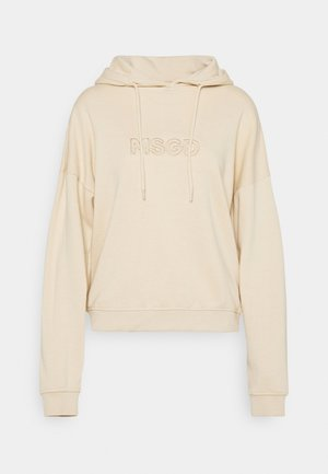 OVERSIZED HOODIE - Mikina - camel