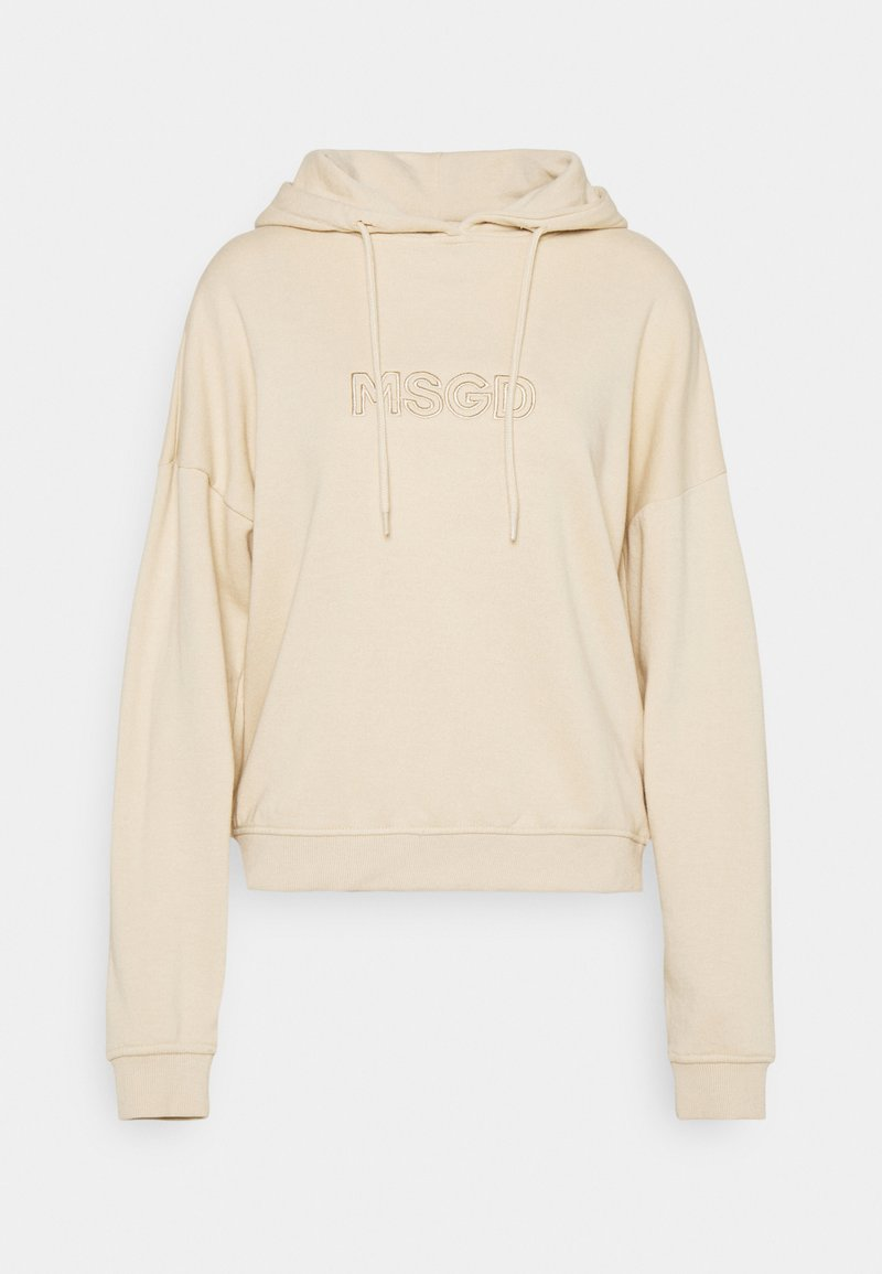 Missguided - OVERSIZED HOODIE - Sweatshirt - camel