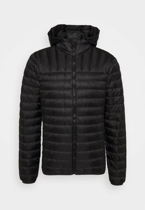 CORE JACKET - Down jacket - black