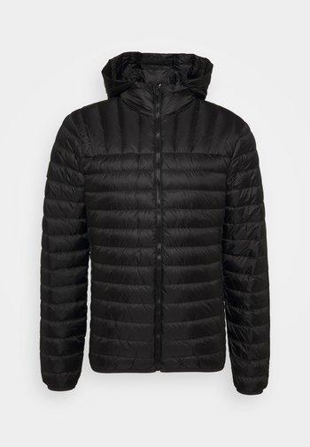 CORE JACKET - Down jacket - black