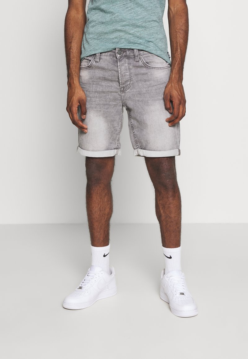 Only & Sons - ONSPLY - Jeansshorts - grey denim