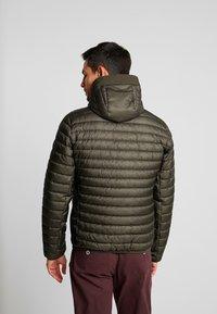 Marc O'Polo - REGULAR FIT LONG SLEEVE HOOD - Light jacket - grape leaf - 2
