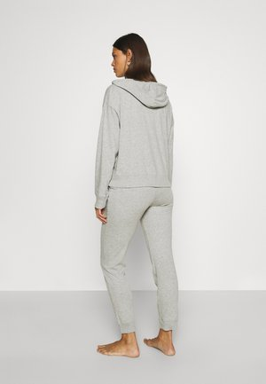 SLUB JOGGER - Pyjama bottoms - heather grey
