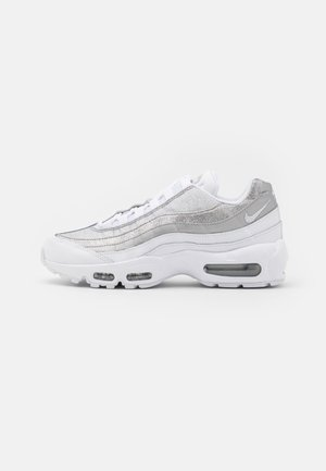 AIR MAX 95 - Sneakers laag - white/metallic silver