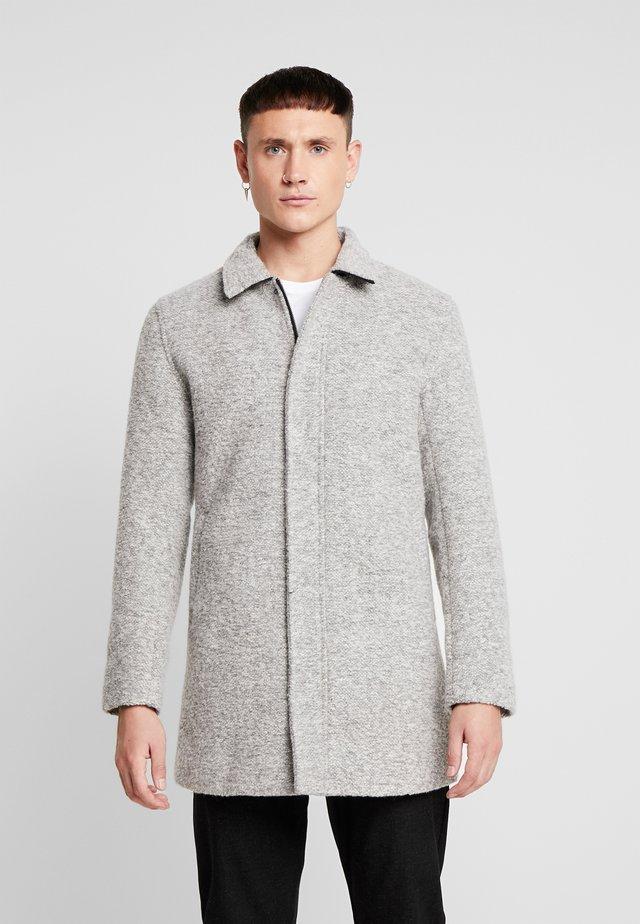 LOOK COAT - Krótki płaszcz - grey melange