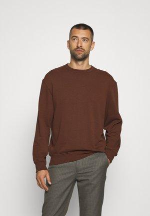 CAJA BOXY TERRY - Sweater - medium brown