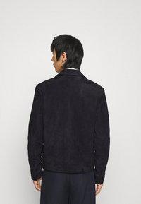 Paul Smith - JACKET - Leren jas - dark blue - 2