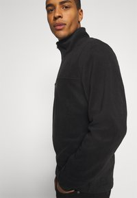 Jack & Jones - JCOMICK HALF ZIP - Fleece jumper - black - 3
