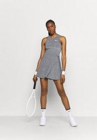Nike Performance - DRESS - Sportklänning - black/white - 1
