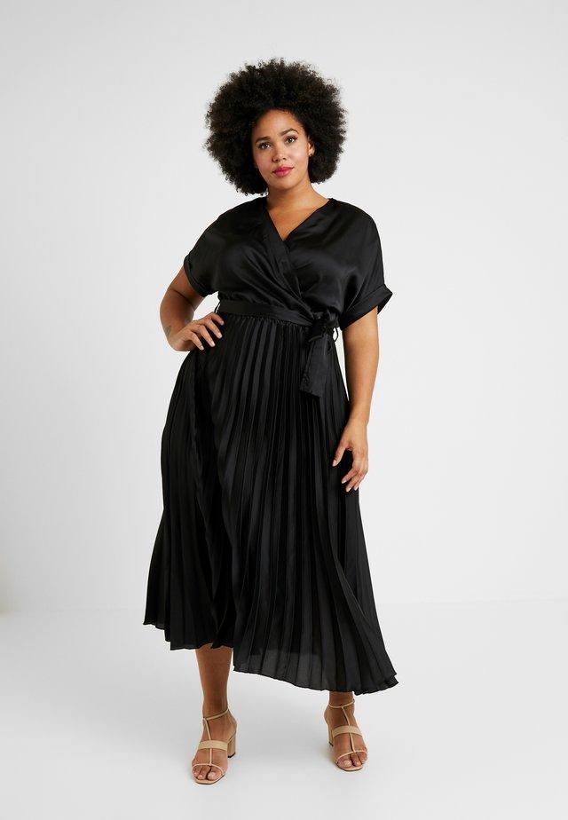 GO PLEATED DRESS - Robe d'été - black