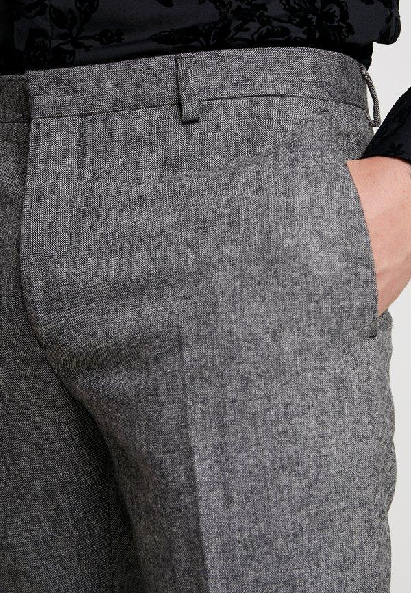 Shelby & Sons TAPERED TROUSER - Spodnie materiałowe - grey/szary Odzież Męska JQQM