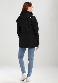 The North Face - WOMENS HIKESTELLER JACKET - Hardshell jacket - black - 2
