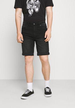 MR ORANGE - Shorts vaqueros - black washed