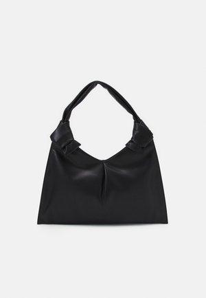 KNOT DAY BAG - Käsilaukku - black